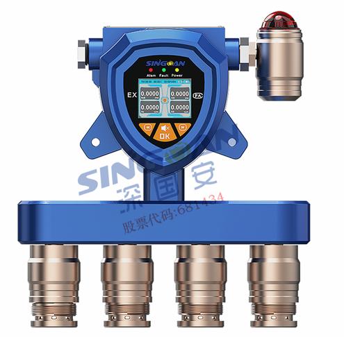 在线式四合一气体浓度检测仪